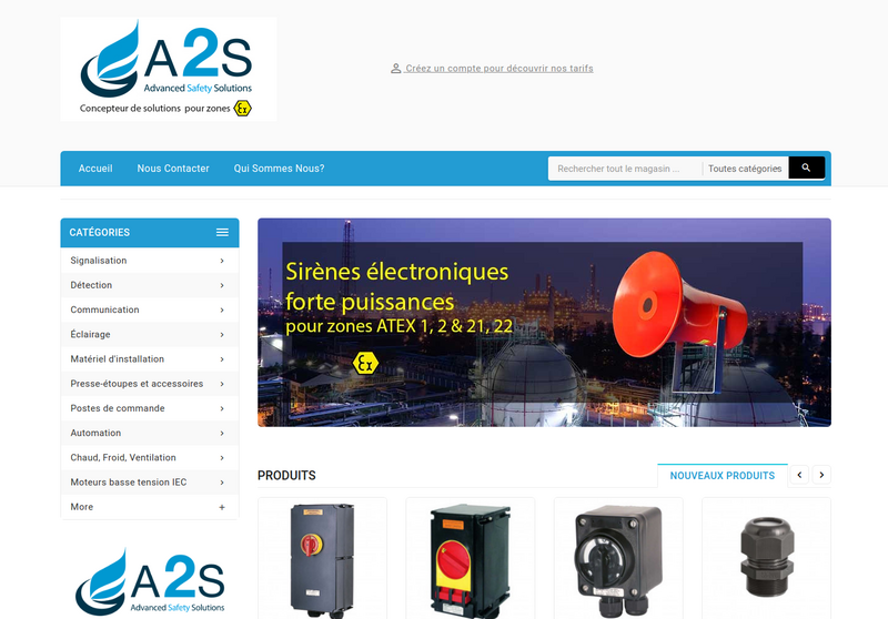 A2S (Advanced Safety Solutions)